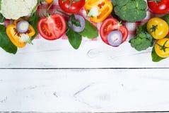 Organic food background Stock Image
