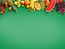 Organic food background. Stock Images