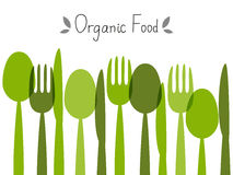 Organic food background Stock Photos