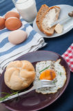 Organic food, breakfast, rural theme. Colorful breakfast theme, morning concept stock image