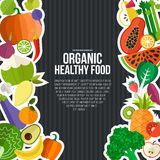 Organic Food Concept Royalty Free Stock Images