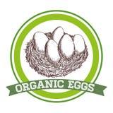 Organic food design Royalty Free Stock Photography