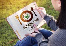Organic Food Healthy Nourishment Concept Stock Photography