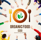 Organic Food Healthy Nourishment Concept Royalty Free Stock Images