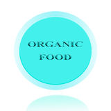 Organic food  icon or symbol image concept design with business Stock Images