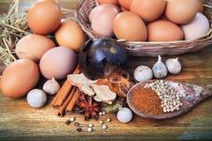 Organic food kitchen theme Stock Image