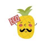 Organic food label. Logo for vegan menu or food. Stock Photo
