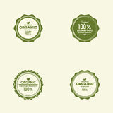 Organic food label Royalty Free Stock Photography