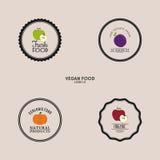 Organic Food Labels Stock Photos