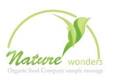 Organic Food Logo stock illustration
