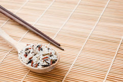 Organic food rice Royalty Free Stock Images