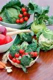 Organic food - vegetables Stock Image