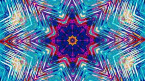 Organic fractal kaleidoscope, multicolored elements for club shows.
