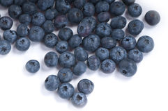 Organic fresh blueberries Stock Photo