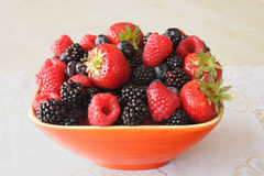Organic fresh fruits Royalty Free Stock Image