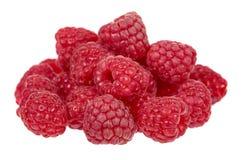 Organic fresh raspberry isolated on a white background. Organic fresh raspberry isolated on a white background Royalty Free Stock Image