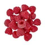 Organic fresh raspberry isolated on a white background. Organic fresh raspberry isolated on a white background Royalty Free Stock Photo