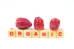 Organic fruit Royalty Free Stock Image