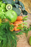 Organic fruit and vegetable Royalty Free Stock Photography