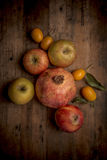 Organic fruits Stock Images