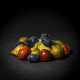 Organic fruits and vegetables Royalty Free Stock Image