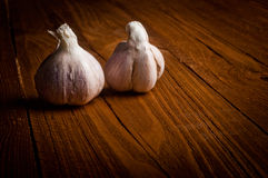 Organic garlic Stock Photos