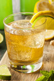 Organic Ginger Ale Soda Stock Photo