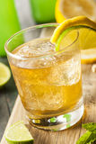 Organic Ginger Ale Soda Royalty Free Stock Image