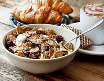 Organic Granola for Breakfast Royalty Free Stock Photography