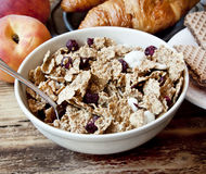 Organic Granola for Breakfast Royalty Free Stock Photos