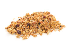 Organic granola Royalty Free Stock Photography