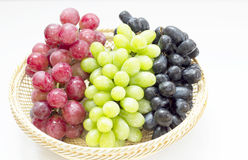 Organic grapes Royalty Free Stock Photos