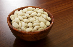 Organic Great Northern beans Royalty Free Stock Photo