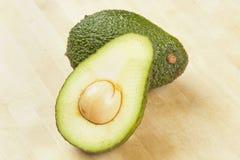 Organic Green Avocado Stock Photography
