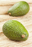 Organic Green Avocado Stock Images