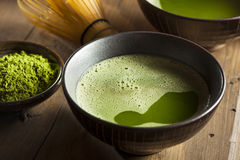 Organic Green Matcha Tea Royalty Free Stock Image