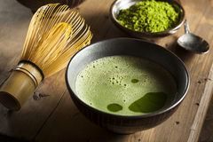 Organic Green Matcha Tea Royalty Free Stock Photo