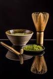Organic green matcha tea Royalty Free Stock Photography
