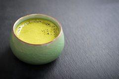 Organic Green Matcha Tea Royalty Free Stock Images