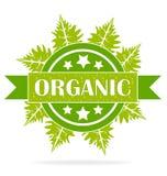 Organic green seal Stock Photography