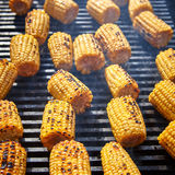 Organic Grilled Corn Stock Images