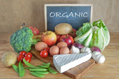 Organic groceries Stock Photos