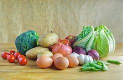 Organic groceries Royalty Free Stock Image