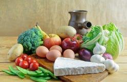 Organic groceries Stock Photos