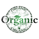 Organic grunge rubber stamp Royalty Free Stock Image