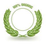 Organic Guarantee Royalty Free Stock Photo