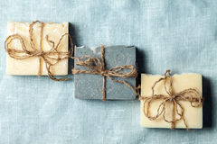 Organic handmade soap. Stock Images