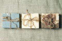 Organic handmade soap. Stock Photography