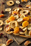 Organic Healthy Assorted Dried Fruit Royalty Free Stock Images