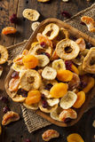 Organic Healthy Assorted Dried Fruit Royalty Free Stock Photos